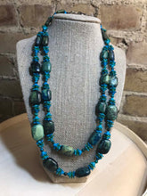 Load image into Gallery viewer, Kara Evans - Chrysoprase Necklace