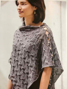 Spin Stitch Poncho Knitting Kit - 3 Colors