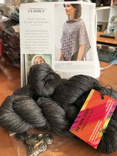 Load image into Gallery viewer, Spin Stitch Poncho Knitting Kit - 3 Colors