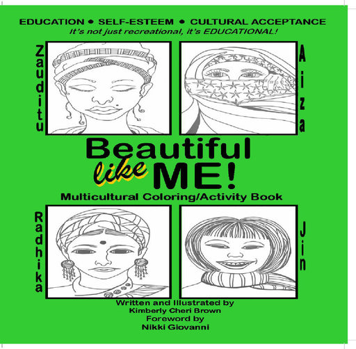 Beautiful Like ME! Multicultural Coloring & Activity Book