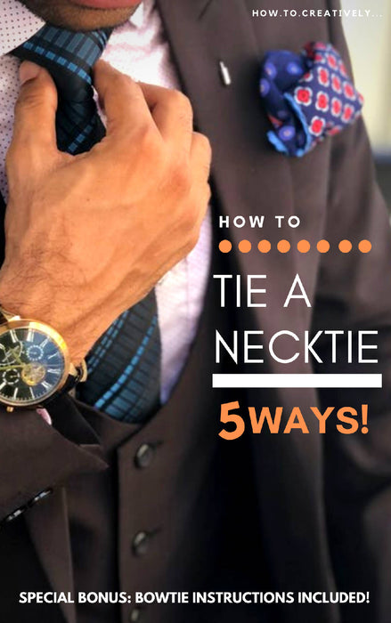 How To Tie A Necktie | Free 1:1 Support