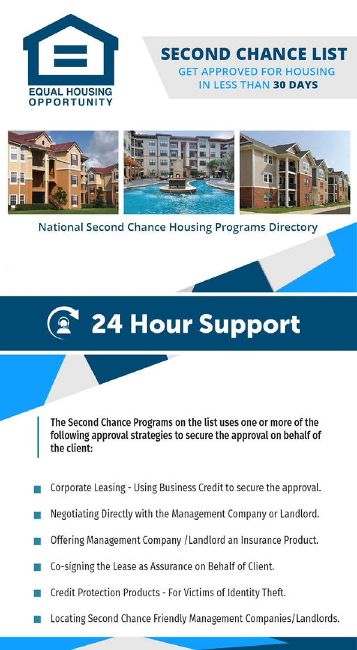 How to get APPROVED for ANY housing rental using Corporate Leasing and Second Chance Programs