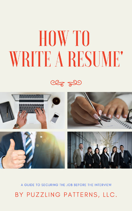 How to Write a Resume'