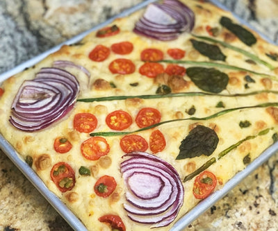 How to Make Garden Focaccia