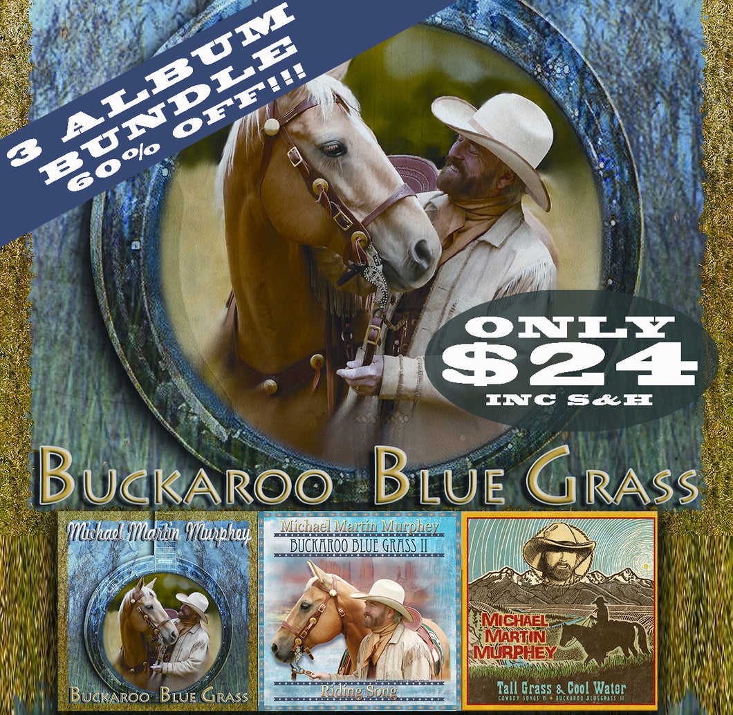 Buckaroo Blue Grass Bundle