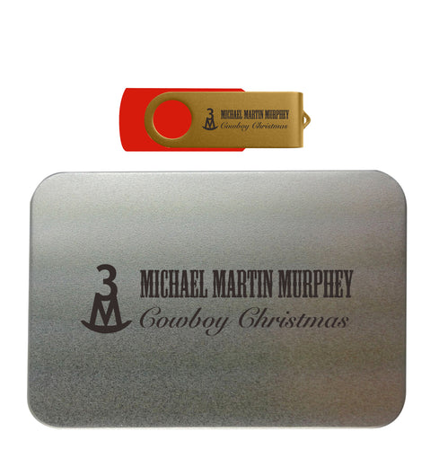 Cowboy Christmas Flash Drive