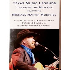 Texas Music Legends, Live from the Majestic DVD