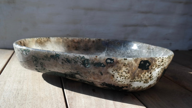 Large quartz bowl