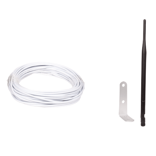 Antena IP y cable de 18 m