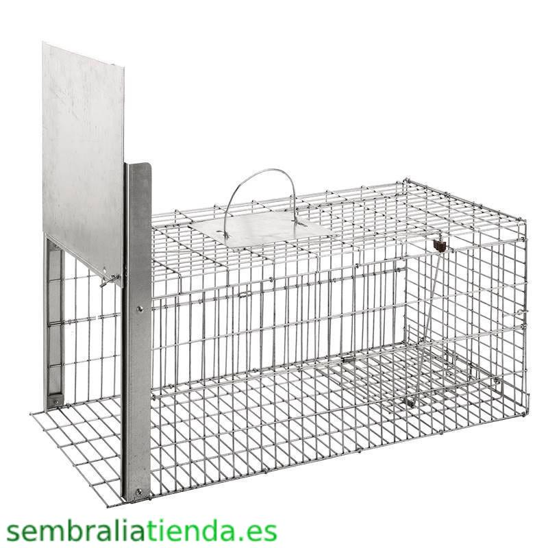 Jaula plegable para capturar animales