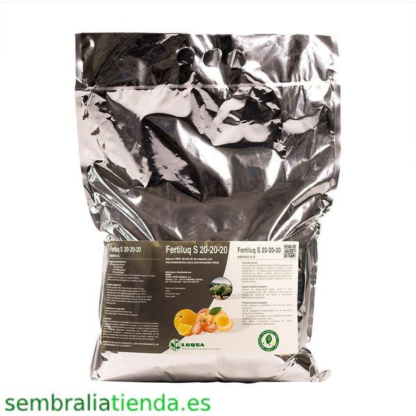 Fertilizante soluble Fertiluq S 20-20-20 5Kg