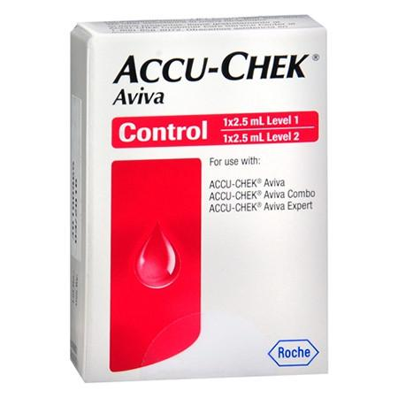 Accu-Chek Aviva Control Solution 2 vials