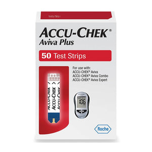 Accu-Chek Aviva Plus Test Strips 50ct