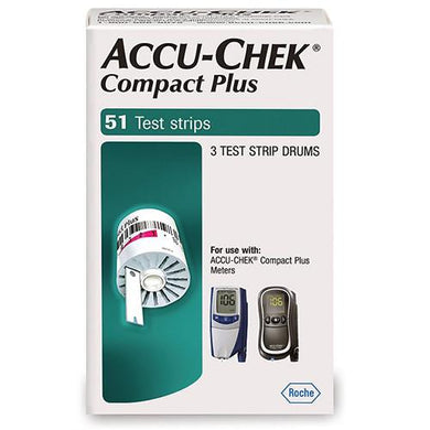 Accu-Chek Compact Plus Test Strips 51ct