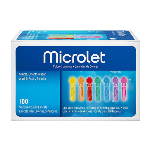 Bayer Color Microlet Lancets