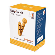 Load image into Gallery viewer, EasyTouch Universal Twist Lancets - 33G