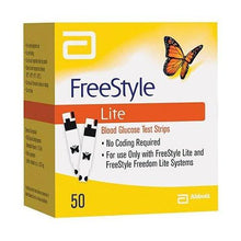 Load image into Gallery viewer, Freestyle Lite Test Strips 50ct