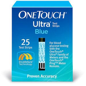 One Touch Ultra Test Strips 25ct