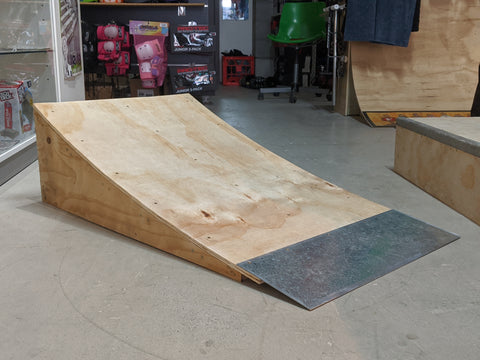 600mm Curved Kicker Ramp