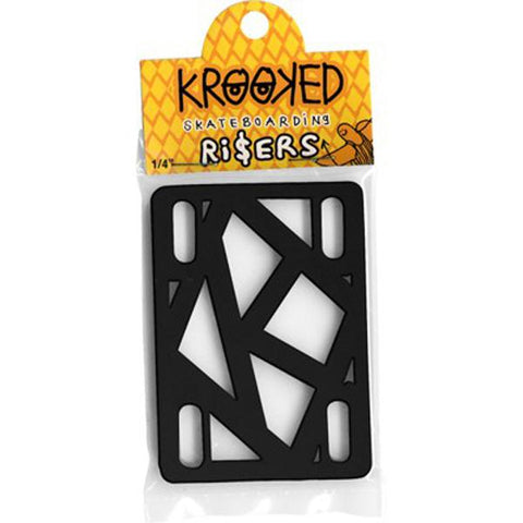 Krooked Riser Pads 1/4 Inch