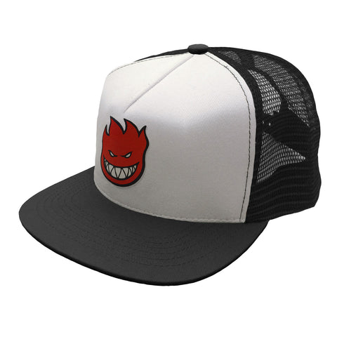 Spitfire Bighead Fill Trucker Cap White/Black