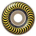Spitfire Formula 4 Classic Swirl 99D 55mm Yellow Skateboard Wheels
