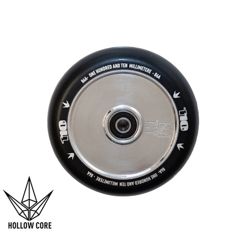 Envy Hollowcore 110mm Scooter Wheel Black/Silver