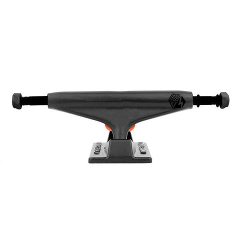 Industrial Skateboard Trucks Black/Black Pair 5.0