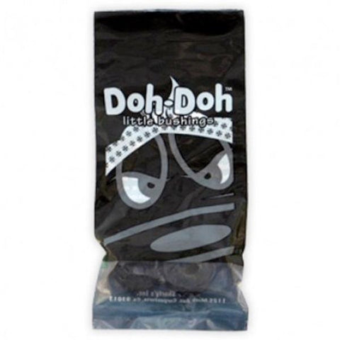 Doh Doh Skateboard Bushings Black 100 Rock Hard