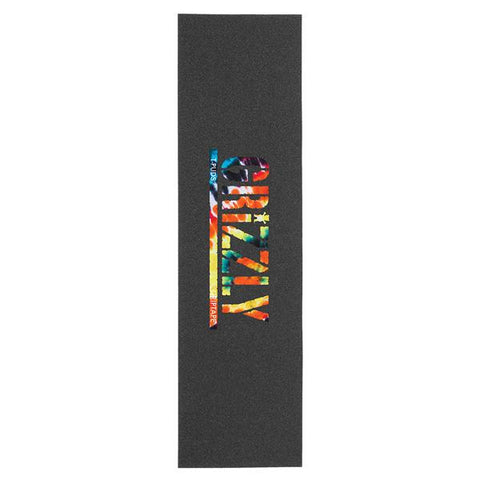 Grizzly Griptape Sheet T Puds Orange Tie Dye