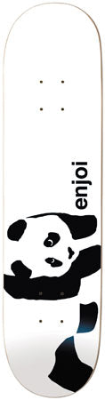 Enjoi Panda White 7.8 Skateboard Deck