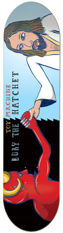 Toy Machine Bury The Hatchet 8.0 Skateboard Deck