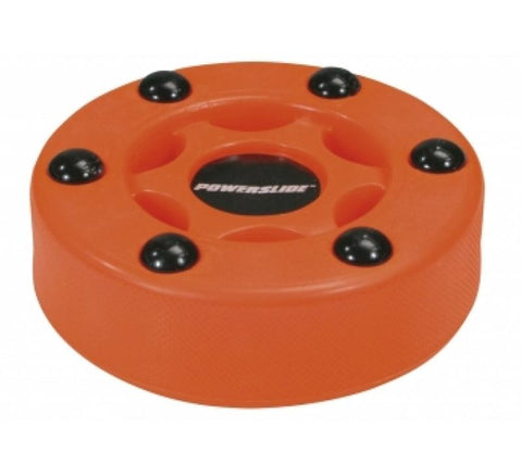 Powerslide Logo Hockey Puck Orange