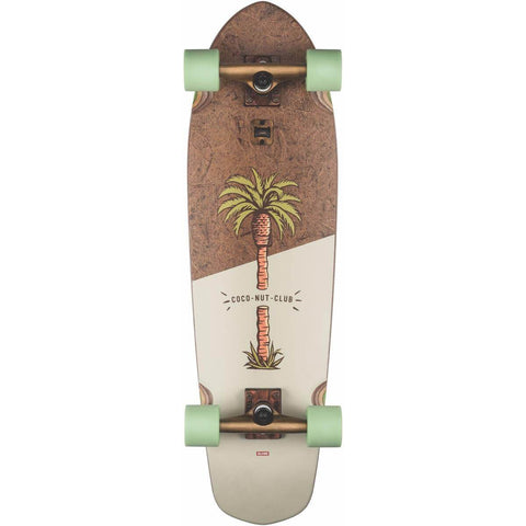 Globe Big Blazer 32 Coconut/Palm Complete Cruiser Skateboard
