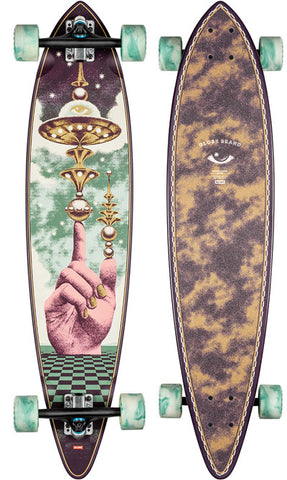 Globe Pintail The Launcher 37 Complete Skateboard