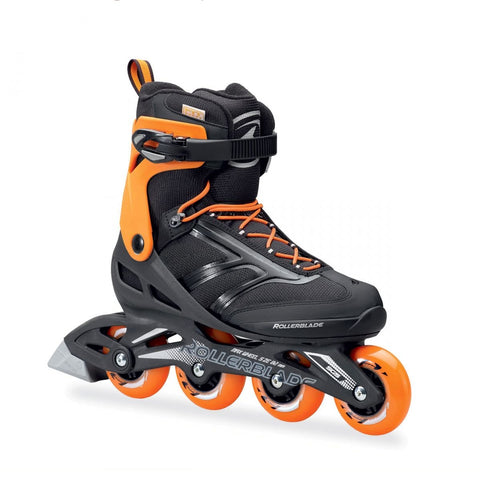 Rollerblade Zetrablade Black/Orange Mens