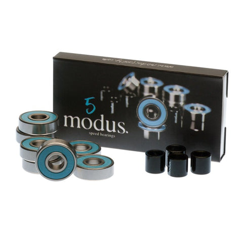 Modus Abec 5 Skateboard Bearings 8 Pack