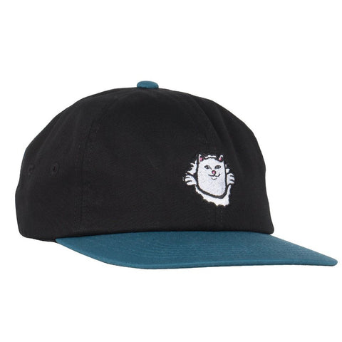Rip N Dip Nermaniac 6 Panel Strapback Black/Blue