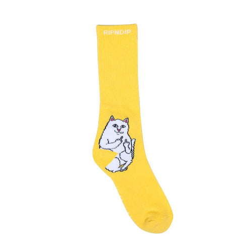 Rip N Dip Lord Nermal Socks Yellow