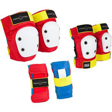 Pro-tec Junior 3 Pack Protective Gear Retro