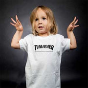 Thrasher Skate Mag Toddler Tee White