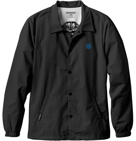 Madness Coaches Jacket Black Large