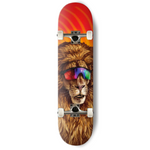 Holiday Party Animals Lion 7.0 Micro Complete Skateboard