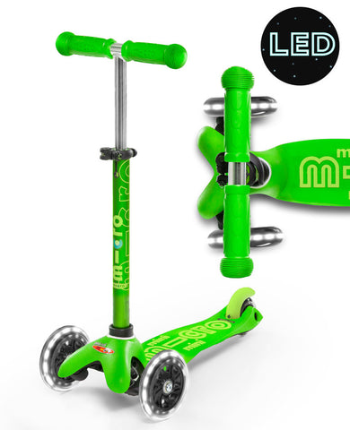 Micro Mini Deluxe LED Green