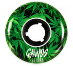 Gawds Wheels Team Weed 60mm/90a Full Radius 4 Pack