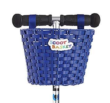 Micro Scoot Basket Blue