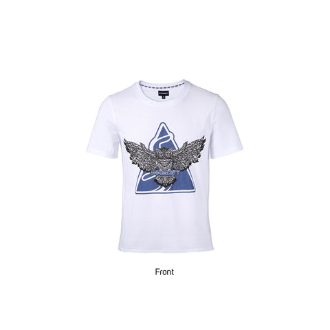 Fasen Owl T- Shirt White X-Small