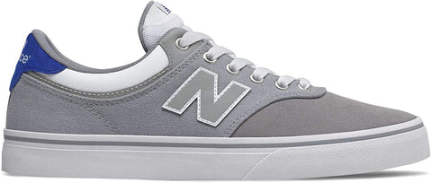 New Balance 255 Grey/White Skateboard Shoes