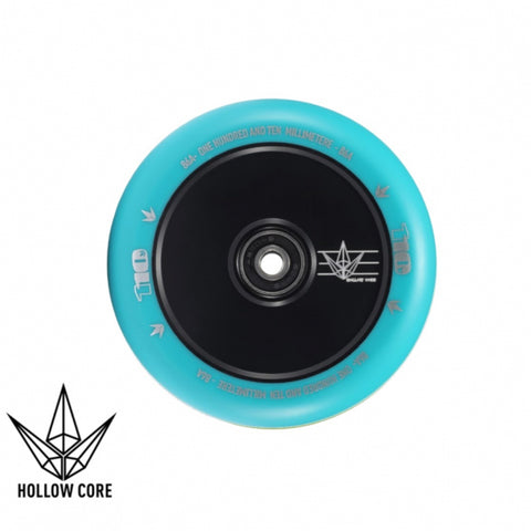 Envy Hollowcore 110mm Scooter Wheel Black/Teal