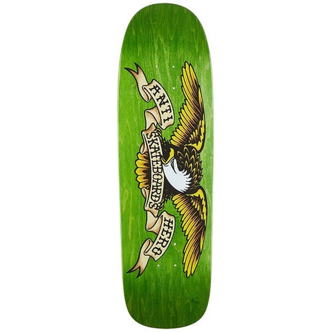 Anti Hero Eagle Shaped Green 9.5 Skateboard Deck